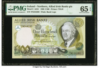 Ireland - Northern Allied Irish Banks Public Limited Company 100 Pounds 1988 Pick 9 PMG Gem Uncirculated 65 EPQ.   HID09801242017  © 2020 Heritage Auc...
