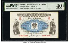 Ireland - Northern Bank of Ireland 1 Pound 2.9.1940 Pick 55a PMG Extremely Fine 40 EPQ.   HID09801242017  © 2020 Heritage Auctions | All Rights Reserv...
