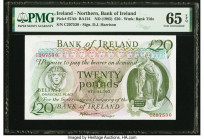 Ireland - Northern Bank of Ireland 20 Pounds ND (1985) Pick 67Ab PMG Gem Uncirculated 65 EPQ.   HID09801242017  © 2020 Heritage Auctions | All Rights ...