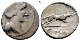 Eastern Europe. Imitations of Roman Republican after 73 BC. Imitating C. Postimius. Denarius AR