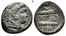 "Kings of Macedon. Uncertain mint. Alexander III ""the Great"" 336-323 BC. Unit Æ"