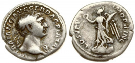 Roman Empire 1 Denarius Traianus AD 98-117. Roma. AD 103-111. IMP TRAIANO AVG GER DAC P M TR P laureate head of Trajan right / COS V P P S P Q R OPTIM...