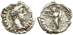 Roman Empire 1 Denarius Commodus AD 177-192. Roma. Struck AD 192. Rome mint. Struck AD 192. Laureate head right / LIB AVG VIIII P M TR P XVII COS VII ...