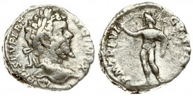 Roman Empire 1 Denarius Septimius Severus AD 193-211. Roma. A.D. 197. Averse: L SEPT SEV PERT AVG IMP X laureate head right. Rev: P M TR P VI COS II P...