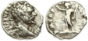 Roman Empire 1 Denarius Septimius Severus AD 193-211. Roma. A.D. 197. Averse: L SEPT SEV PERT AVG IMP VIIII laureate head right. Rev: P M TR P V COS I...