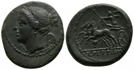 Bruttium. The Brettii circa 214-211 BC. Unit AE