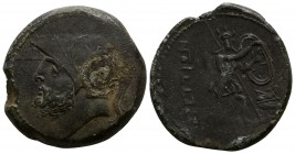 Bruttium. The Brettii 211-208 BC. Bronze Æ