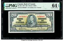 Canada Bank of Canada $20 2.1.1937 BC-25b PMG Choice Uncirculated 64 EPQ.   HID09801242017  © 2020 Heritage Auctions | All Rights Reserved
