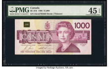 Canada Bank of Canada $1000 1988 BC-61b PMG Choice Extremely Fine 45 EPQ.   HID09801242017  © 2020 Heritage Auctions | All Rights Reserved