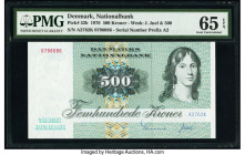 Denmark National Bank 500 Kroner 1976 Pick 52b PMG Gem Uncirculated 65 EPQ.   HID09801242017  © 2020 Heritage Auctions | All Rights Reserved