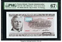 Faeroe Islands Foroyar 1000 Kronur 1994 Pick 23e PMG Superb Gem Unc 67 EPQ.   HID09801242017  © 2020 Heritage Auctions | All Rights Reserved