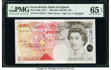 Great Britain Bank of England 50 Pounds 1994 (ND 1993-98) Pick 388a PMG Gem Uncirculated 65 EPQ.   HID09801242017  © 2020 Heritage Auctions | All Righ...