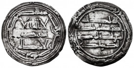 Independent Emirate. Abd Al-Rahman I. Dirham. 161 H. Al-Andalus. (Vives-59). Ag. 2,26 g. Almost VF. Est...50,00. 