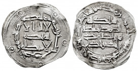 Independent Emirate. Abd Al-Rahman I. Dirham. 166 H. Al-Andalus. (Vives-64). (Miles-57). Ag. 2,30 g. Choice VF. Est...50,00. 