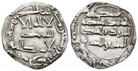 Independent Emirate. Al-Hakam I. Dirham. 194 H. Al-Andalus. (Vives-94). (Miles-85). Ag. 2,15 g. Clipped. Choice VF. Est...35,00. 