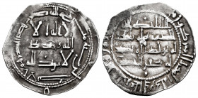 Independent Emirate. Al Hakam I. Dirham. 200 H. Al-Andalus. (Vives-107). (Miles-91). Ag. 2,40 g. VF. Est...50,00. 