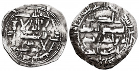 Independent Emirate. Abd Al-Rahman II. Dirham. 210 H. Al-Andalus. (Vives-130). (Miles-101a). Ag. 2,48 g. VF. Est...50,00. 