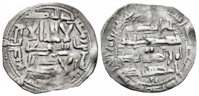 Independent Emirate. Abd Al-Rahman II. Dirham. 225 H. Al-Andalus. (Vives-172). (Miles-117). Ag. 2,10 g. VF. Est...40,00. 