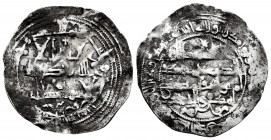 Independent Emirate. Muhammad I. Dirham. 260 H. Al-Andalus. (Vives-282). (Miles-153j). Ag. 2,54 g. Almost VF. Est...30,00. 