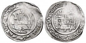 Caliphate of Cordoba. Abd Al-Rahman III. Dirham. 325 H. Al-Andalus. (Vives-386). Ag. 2,95 g. Citing Sa´id in the IA. Rare. VF. Est...80,00. 