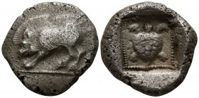 Dynasts of Lycia. Uncertain mint 500-480 BC. Stater AR