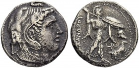 PTOLEMAIC KINGDOM. Ptolemy I Soter, 323-284. Tetradrachm 311/305, Alexandria. As satrap, 323-305 BC in the name of Alexander III. Obv. Head of the dei...