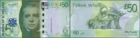 Scotland: Bank of Scotland 50 Pounds 2007 P. 127 in condition: UNC.