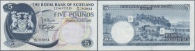 Scotland: The Royal Bank of Scotland Ltd. 5 Pounds 1969 P. 330 in condition: UNC.