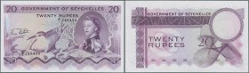 Seychelles: 20 Rupees ND P. 16b in condition: UNC.