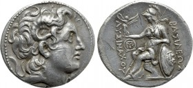 KINGS OF THRACE (Macedonian). Lysimachos (305-281 BC). Tetradrachm. Magnesia.