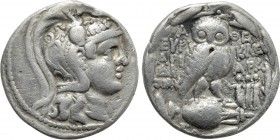 ATTICA. Athens. Tetradrachm (135/4 BC). New Style Coinage. Euryklei-, Ariara- and Diony-, magistrates.