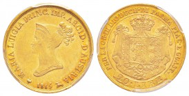 Italy, Maria Luigia 1815-1847     