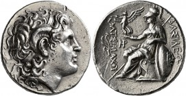 KINGS OF THRACE. Lysimachos, 305-281 BC. Tetradrachm (Silver, 29 mm, 16.70 g, 12 h), Lampsakos, circa 297/6-282/1. Diademed head of Alexander the Grea...