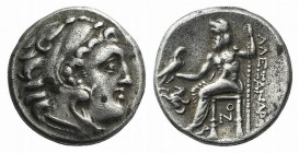 Kings of Macedon, Antigonos I Monophthalmos (Strategos of Asia, 320-306/5 BC, or king, 306/5-301 BC). AR Drachm (16mm, 4.20g, 1h). In the name and typ...