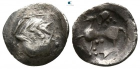 Eastern Europe. Imitation of Philip II of Macedon circa 300-200 BC. Obol AR
