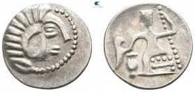 Eastern Europe. Imitations of Alexander III of Macedon  circa 300-100 BC. Drachm AR