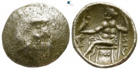 Eastern Europe. Imitations of Alexander III of Macedon  circa 100-0 BC. Drachm AR