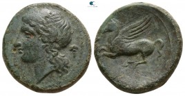 Sicily. Syracuse. Timoleon and the Third Democracy 344-317 BC. Bronze Æ