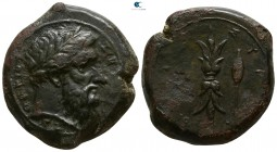 Sicily. Syracuse. Timoleon and the Third Democracy 344-317 BC. Hemidrachm Æ