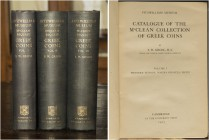 [McClean.] Grose, S. W. Catalogue of the McClean Collection of Greek Coins. Volume 1. Western Europe, Magna Graecia, Sicily. Volume 2. The Greek Mainl...