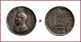 France, Louis Philippe I (1830-1848), Election 1830, silver medaillette, 0,73 g Ag, 10 mm, Collection Renesse-Breidbach 13487
