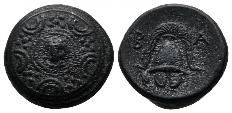 Kings of Macedon. Alexander III 'The Great' (336-323 BC). AE (15mm-4,18g). Uncer...