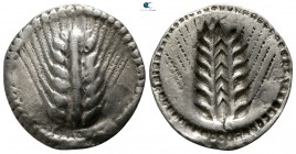Lucania. Metapontion 540-510 BC. Drachm AR