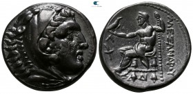 "Kings of Macedon. Amphipolis. Alexander III ""the Great"" 336-323 BC. Struck circa 315-294 BC. Tetradrachm AR"