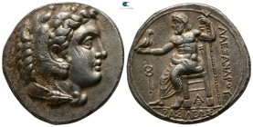 "Kings of Macedon. Arados. Alexander III ""the Great"" 336-323 BC. Tetradrachm AR"