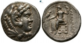 "Kings of Macedon. Arados. Alexander III ""the Great"" 336-323 BC. Struck circa 328-320 BC. Tetradrachm AR"