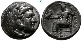 "Kings of Macedon. Babylon. Alexander III ""the Great"" 336-323 BC. Struck circa 325-323 BC. Tetradrachm AR"