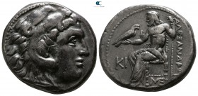 "Kings of Macedon. Lampsakos. Alexander III ""the Great"" 336-323 BC. Struck circa 310-301 BC. Tetradrachm AR"