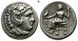 "Kings of Macedon. Sardeis. Alexander III ""the Great"" 336-323 BC. Struck circa 323-319 BC. Drachm AR"
