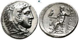 "Kings of Macedon. Uranopolis. Alexander III ""the Great"" 336-323 BC. Struck under Kassander, Philip IV, Antipater, or Demetrios I Poliorketes, circa 30..."